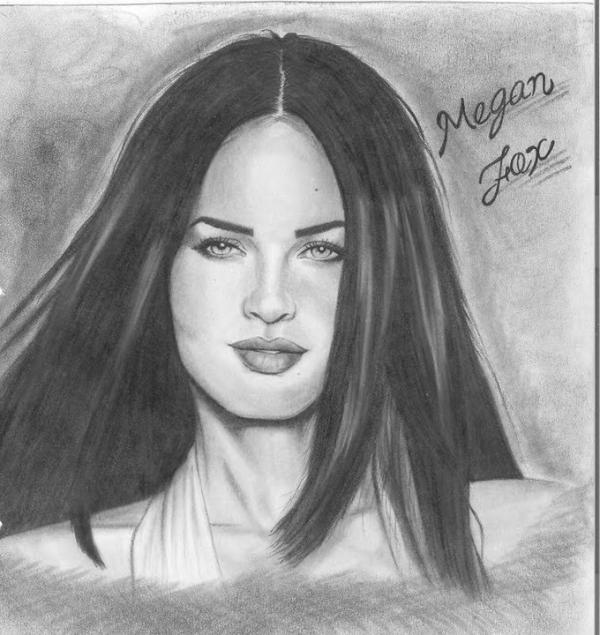 Megan Fox by NOE